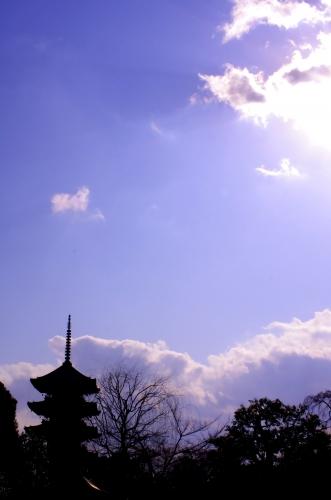 東寺-五重塔-
