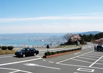京都市街と琵琶湖を眼下に望む絶景ロード