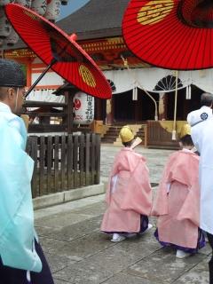 祇園祭2013・久世駒形稚児社参