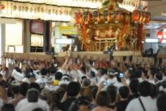 祇園祭2014・神幸祭 神輿渡御