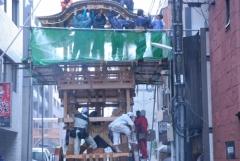 祇園祭2014前祭・鉾建て、山建て