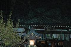 嵐山法輪寺で月を愛でる~東日本大震災の一日も早い復興を願って~