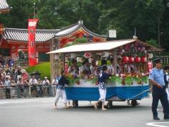 祇園祭2014・花傘巡行