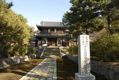 京の冬の旅 建仁寺開山堂