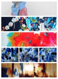 京都造形芸術大学 染織・テキスタイルコース 修士1回生5人展 「装飾欲」
