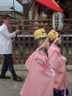 祇園祭2014・久世駒形稚児社参