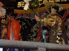 祇園祭2015・石見神楽の奉納