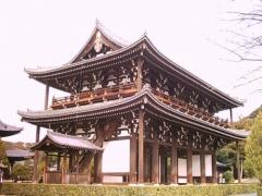 京の冬の旅 〔東福寺 三門〕