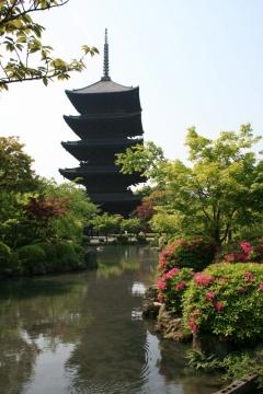 東寺 国宝 五重塔 初層の特別拝観