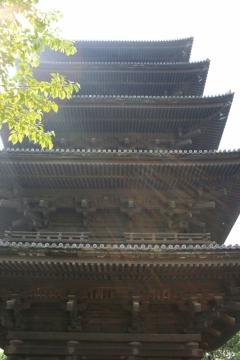 京の冬の旅 東寺 五重塔