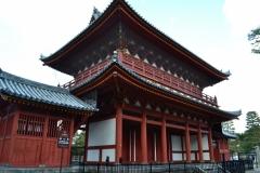 妙心寺 三門 春の京都 禅寺一斉拝観
