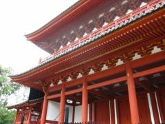 京の冬の旅 〔妙心寺 三門〕