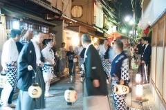 宮川町 街の灯り