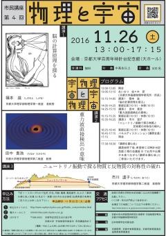 市民講座「物理と宇宙」