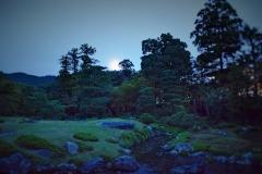 夜の無鄰菴へようこそ 「東山の名月をながめる会」