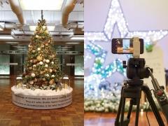 COCON KARASUMA クリスマスイルミネーション
