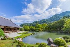 【嵐山】世界遺産 天龍寺と新緑の美しい宝厳院で禅の文化を満喫