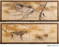 明治150年記念 千總の屏風祭