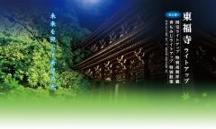 東福寺国宝ライトアップ特別夜間拝観・青もみじライトアップ特別散策