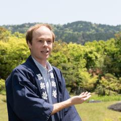 マイケルさんの英語で日本庭園!サロン