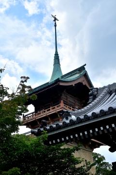 京の夏の旅 大雲院 祇園閣