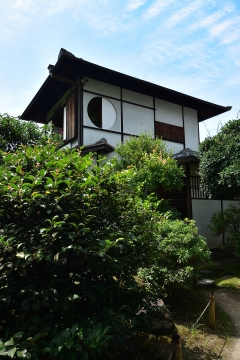 京の夏の旅 東本願寺 飛地境内地 渉成園「蘆菴」