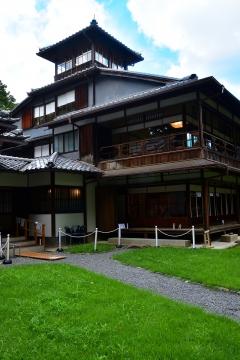 京の夏の旅 旧三井家下鴨別邸〈主屋二階〉
