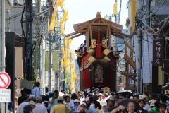 祇園祭2017後祭 曳き初め