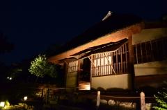秋の夜の観月茶会