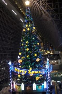 京都駅ビルクリスマスイルミネーション2013