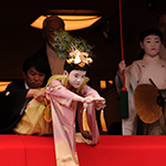 吉符入~長刀鉾稚児舞披露(太平の舞)