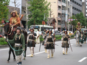 Procession of Military Officers in the Enryaku Period